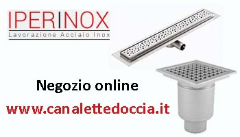 canalette doccia inox magazzino online